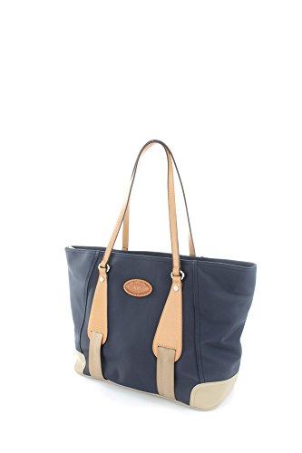La Martina Borsa Shopping media colore Blu Navy - L61PW2760052082