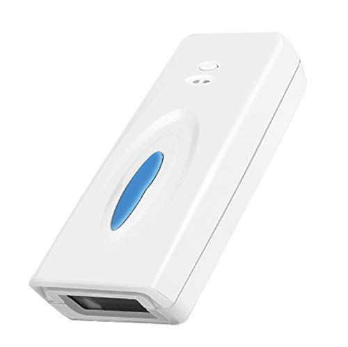 KKmoon BT 4.0 Wireless Barcode Scanner, M5QR-B Scanning-Gerät Kabelloser Barcodeleser Handscanner 1D 2D QR-Codes Barcodeleser-Decoder-Scanner Leichtes tragbares Gerät mit OffStore-Funktion