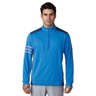 adidas Men's Competition 1/4 Zip Sweatshirt - Blast Blue/Dark Slate,