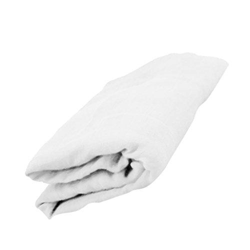 Weiße Stretch Kostüm - Sharplace Neugeborenes Baby Fotografie Foto Prop Stretch Wrap Baby Fotoshooting Kostüm Dekcke - Weiß