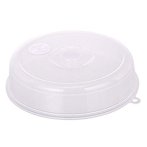 LeenBonnie Große Mikrowelle Splatter Deckel mit Dampf-Lüftungsöffnungen Fresh-halten Universal Plate Bowl Cover Stapelbare Dichtung Disk Cover