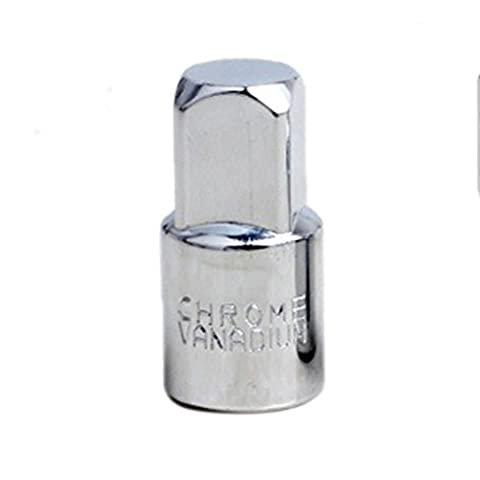 wetrys Ball Lock Ratschen-Stecknuss Adapter Reducer Konverter Set Werkzeug Kit 1/10,2cm 3/20,3cm 1/5,1cm, edelstahl, 3/8