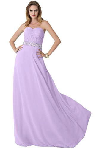 Sunvary-Top in Chiffon, con parte posteriore aperta, tacco basso, New Fashion Dresses Purple