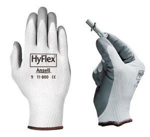 HyFlex (R) Schaumstoff Montage Handschuhe; Knit Liner, foam-dipped, farblich abgestimmt Manschette; Größe 9[Preis ist pro Paar]