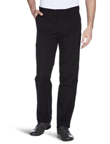 dockers-mens-d1-poplin-slim-trousers-black-black-0009-40w-x-32l