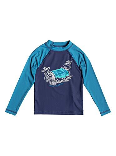 Quiksilver Bubble Dreams - Long Sleeve UPF 50 Rash Vest for Boys 2-7 - Jungen 2-7 - Herren Bubble Vest