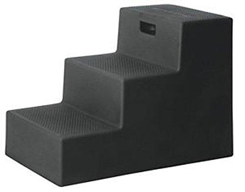 Artikelbild: Horsemens Pride 3-Step Mounting Block Heavy Duty Polyethylene Footing Black