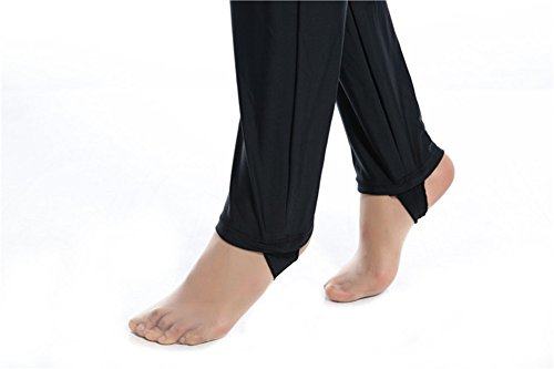 Muslimischen Damen Badeanzug Muslim Islamischen Full Cover Bescheidene Badebekleidung Modest Muslim Swimwear Beachwear Burkini (Int'l – S, Hijab Connected-7) - 3