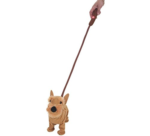Creaciones Llopis - Perro anda y ladra con Mando en la Correa