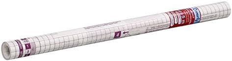 Viquel - Rouleau protège livre livre livre adhésif - Protège livre transparent enlevable et repositionnable - 5 mètres x 45 cm - Support quadrillé B01N06D8VV | Durable Dans L'utilisation  25fdab