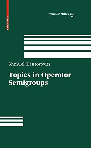 Topics in Operator Semigroups (Progress in Mathematics Book 281) (English Edition)
