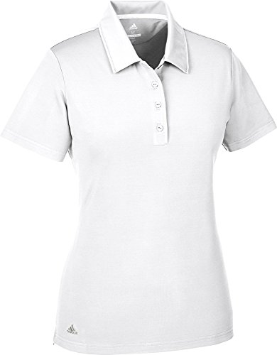 adidas ultimate365 Short Sleeve Polo, Golf, Damen XL weiß