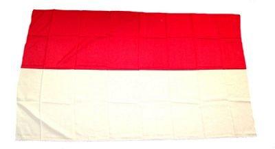 Fahne Stockflagge Schützenfest rot / weiß 30 x 45 cm