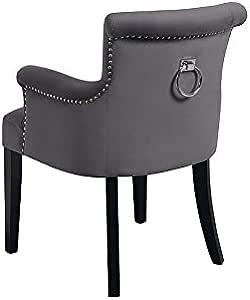 My Furniture Positano Carver Sessel mit Rückenring Smoke