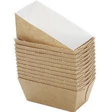 50 BAKERY DIRECT SQUARE MINI LOAF CARD DISPOSABLE BAKING MOULDS/CASES *FREEPOST* by Bakery direct Ltd