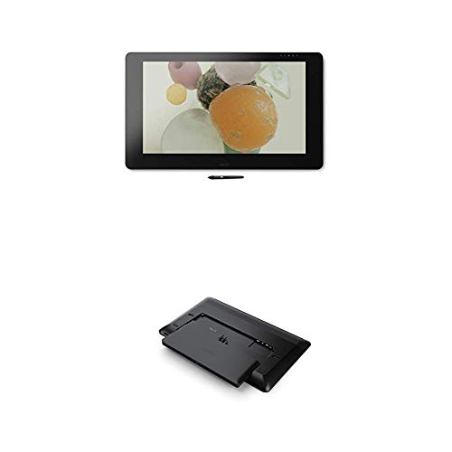 Wacom Cintiq Pro 32 - Kreatives Stift- und 4K Touch-Display ((32 Zoll), mit Multi-Touch und integriertem Standfuß) + PC Modul (Intel i5 - 7300hq/Quadro p3200 m, für Grafiktablet Pro 24 oder 32)