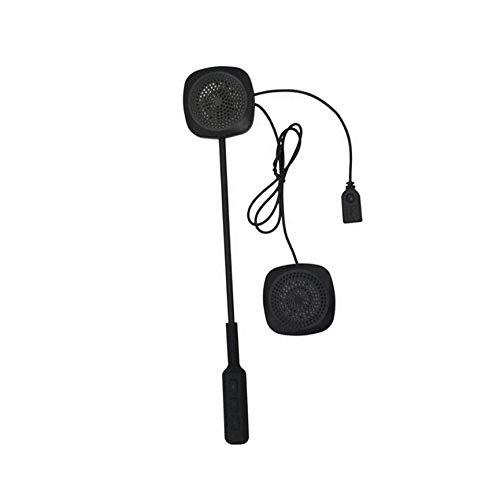 Peanutaod Motorrad Helm Headsets Stereo Lautsprecher Für Motorrad Roller Intercom Drahtlose Kopfhörer Stereo Helm Headset
