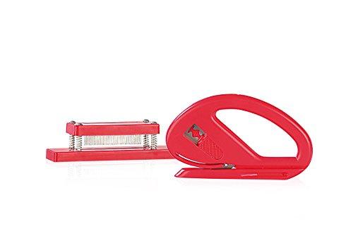 Your Design Geschenkpapierschneider: Geschenk-Set: Papierschneider & Geschenkband-Spleißer (Geschenkbandschneider) -