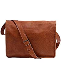 "Genuine Leather Macbook/Laptop 15.6"" Messenger Bag,… For Znt Bags - B0795WFYJH"