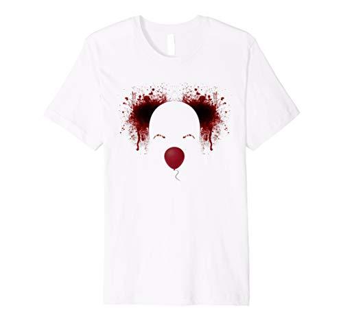 Scary Clown Film Stil Halloween Tshirt Einzigartige Halloween