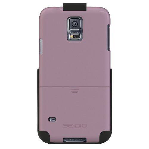 Seidio BD2-HR3SSGS5-OC Surface Hülle Combo für Samsung Galaxy S5 Orchidee - Seidio Holster-design
