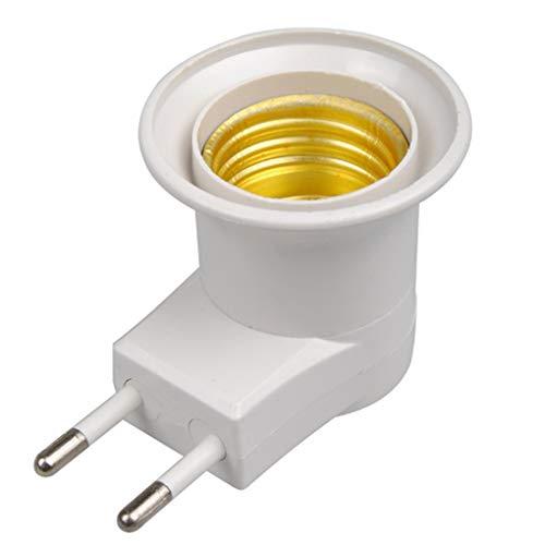Babysbreath17 Base lámpara E27 LED receptáculo Macho