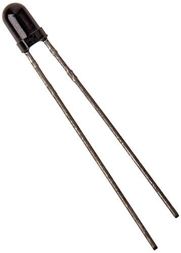 Preisvergleich Produktbild 50Stück 3mm Round Head Infrarot-Empfänger photodiodes IR-DIODE