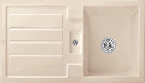 Villeroy & Boch Flavia 50 Ivory Beige Keramik-Spüle Einbauspüle Becken Küche