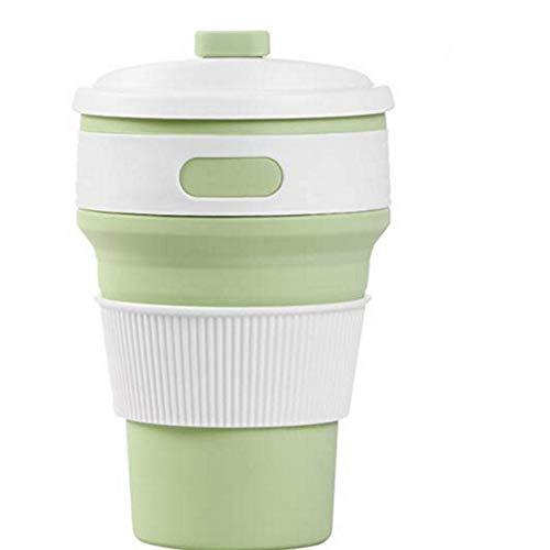 LIWEIL Küchenaccessoires 350 ml tragbare silikon Faltbare Kaffee Tee Tasse Falten Wiederverwendbare Tasche raumdekoration