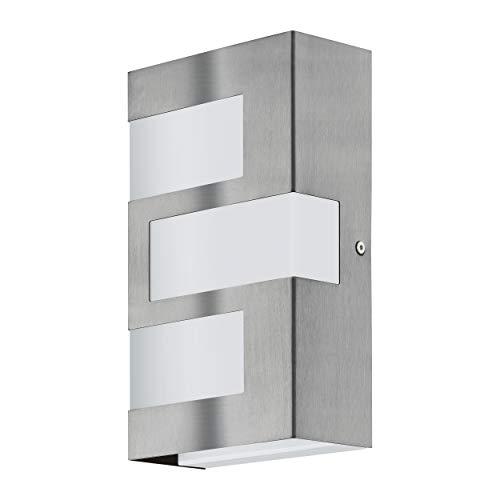 EGLO RALORA Außenleuchte, Edelstahl, Integriert, 2.5 W, Silber