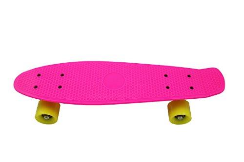 """Preisvergleich Produktbild Rose Red Fish Plate 22 """"Skateboard Kleine Retro Cruiser Skateboard langes Brett 55 * 14 * 9 cm"""