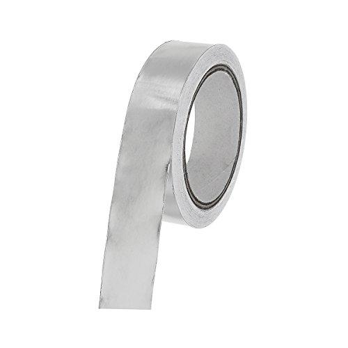 Preisvergleich Produktbild GOZAR Chrom 3Cm X 20M Folie Klebeband Klebe Werkzeuge Aluminium Folie Tape Stripe Roll