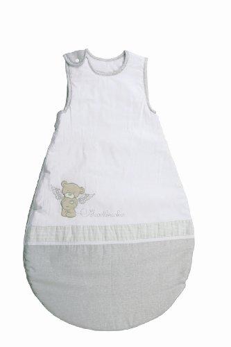 roba Schlafsack, 70cm, Babyschlafsack ganzjahres/ganzjährig, aus atmungsaktiver Baumwolle, Schlummersack unisex, Kollektion 'Heartbreaker'
