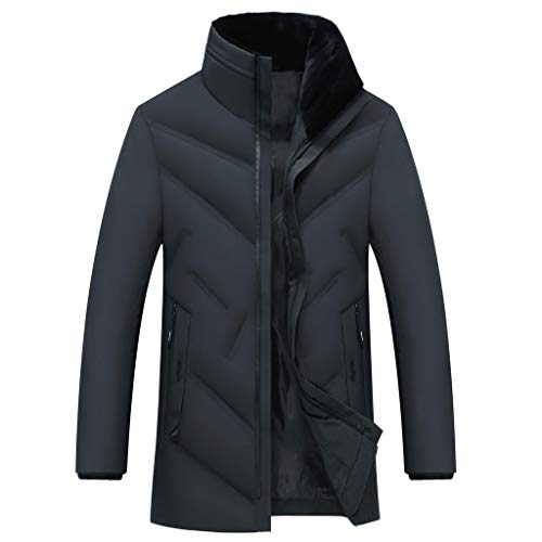Großhandel Slim Fit Wintermantel Männer Baumwolle Gefütterte Kleidung Dicke Warme Wasserdichte Windjacke Anti Kälte Fleece Jacke Bequeme Männer