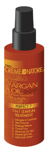 Creme of Nature Huile d'Argan Perfect7 7-N-1 congé en 125 ml (pack de 2)