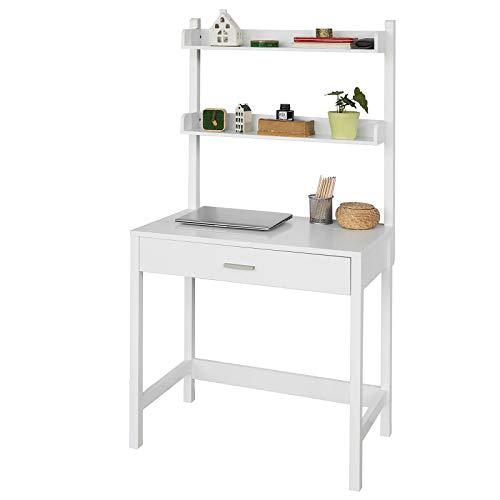 Sobuy scrivania,porta pc,tavolo per computer ,con cassetto, fwt33-wn,it