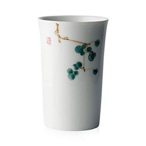 MU Handgemachte weiße Porzellan bemalte Keramik Tasse Haushalt Wasser Tasse Tee Tasse paar Cup japanischen Stil Teetasse weiblichen Teetasse Custom -