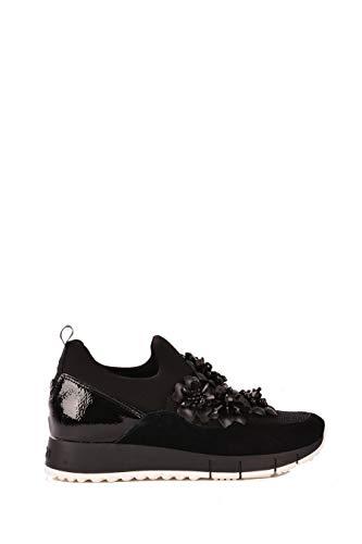 Liu Jo Jeans Liu Jo B68027 Gigi 03 Elastic Sneaker Donna Nera Black 46776f3df3a
