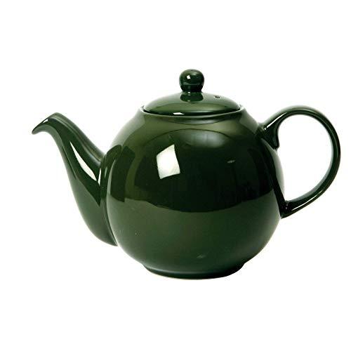 London Pottery 2 Cup Globe Teapot Green