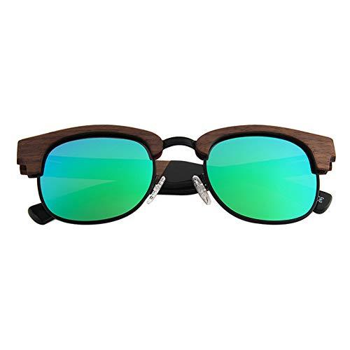 WDDP Polarisierte Sonnenbrille Herren- Und Damenbrille Mit Matter Vorderseite Und Polarisierten Gläsern,A