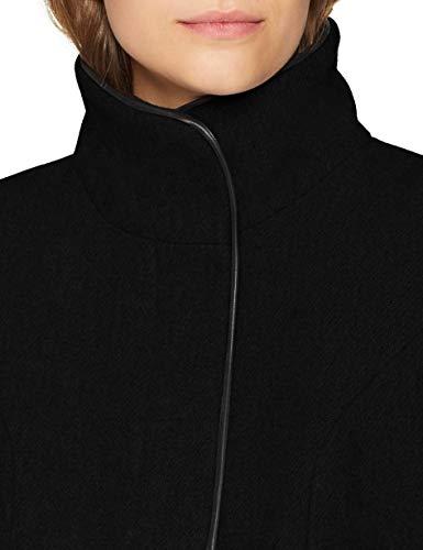 VERO MODA Damen Mantel VMBESSY Class 3/4 Wool Jacket NOOS, Schwarz Black, 36 (Herstellergröße: S) - 5