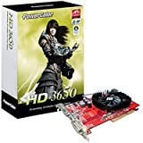 PowerColor Radeon HD 3650 512 MB DDR2 AGP Grafikkarte AGP 512 MB Radeon HD 3650 DDR2 TV - Out DVI