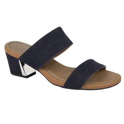 Scholl diana calzatura in nubuk colore navy blu numero 39