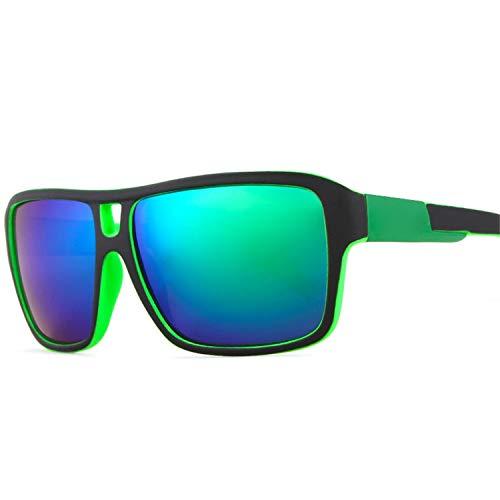 AOCCK Sonnenbrillen,Brillen, Top Selling Jams Style Polarized Sunglasses Men Color-Mix Outdoor Sun Glasses For All Face With Skull Zip Box KD520 Skull Zipper Case C202