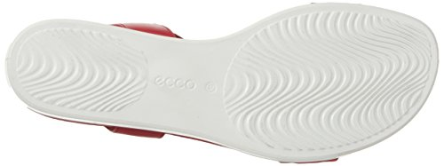 ECCO - Ecco Touch Sandal Plateau, Sandali Donna Rot (1466CHILI RED)