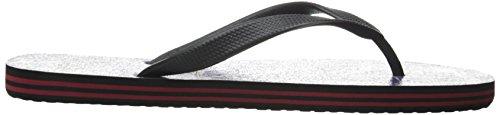 DC Shoes Spray Graffik D0303276, Infradito Uomo Fiery Red/Black