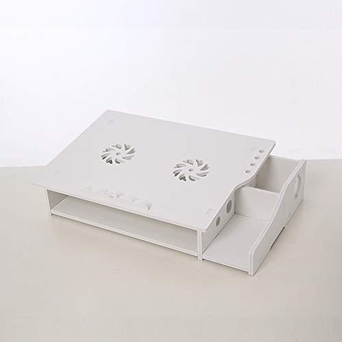 Supporto per computer desktop porta computer dissipatore di calore fai da te proteggere stand cervicale computer per macbook, apple, laptop,b
