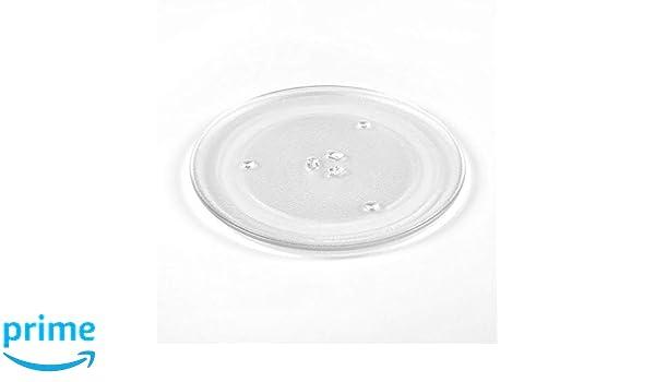 Delonghi Microwave Genuine Glass Turntable Plate 311 mm