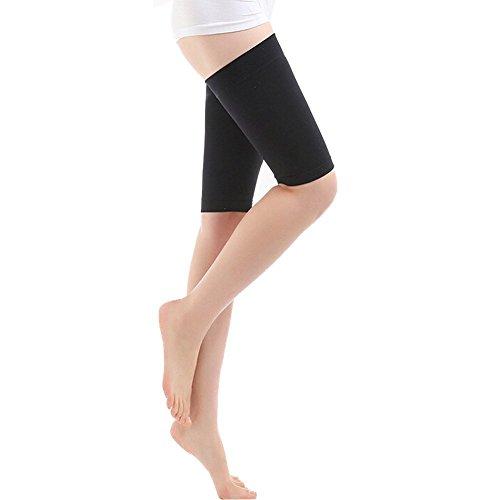 Slim Wrap (Butterme Damen Beauty Slim Gewicht Verlust Oberschenkel Bein Massage Shaper bequem superdünn Elastic atmungsaktiv Bein Wrap Gürtel, Oberschenkel Abnehmen Kompression Socken, Burn Fat dünne Bein Socken)