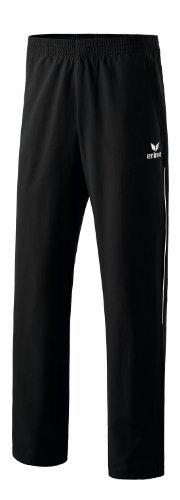 erima Kinder Präsentationshose Shooter, schwarz/weiß, 152, 110130 (Damen Trainingsanzug Schwarz)